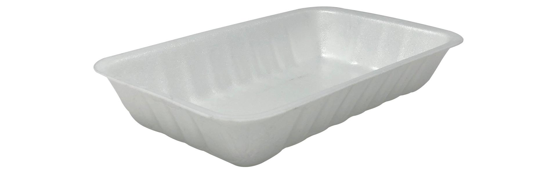 Foamed pet trays